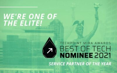 Mobile reCell selected as a nominee for TechPoint's Mira Awards for their third year in a row, honoring 'The Best of Tech in Indiana'
